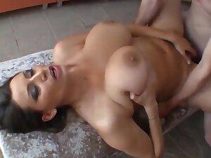 Sensual Jane - Fabulous Milf With Big Natural Bristols In Sauna