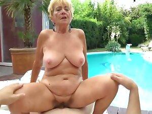 Cute Mature Blonde Widow