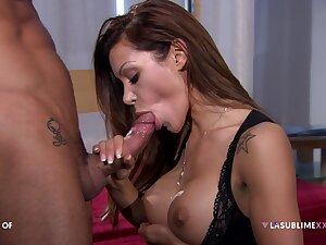 Pornstar Elena Grimaldi loves piercing anal sex scenes with this scrounger
